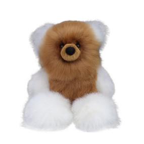 "Superfine 100% Baby Alpaca Fur Artist Teddy Bear One of a Kind 14"" (20B-100-007)"