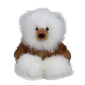 "Superfine 100% Baby Alpaca Fur Artist Teddy Bear One of a Kind 14"" (20B-100-008)"