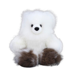 "Superfine 100% Baby Alpaca Fur Artist Teddy Bear One of a Kind 14"" (20B-100-010)"