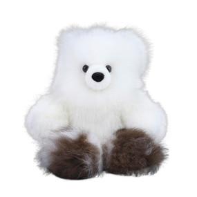 "Superfine 100% Baby Alpaca Fur Artist Teddy Bear One of a Kind 14"" (20B-100-010)"
