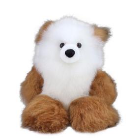 "Superfine 100% Baby Alpaca Fur Artist Teddy Bear One of a Kind 14"" (20B-100-011)"