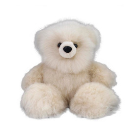 "Superfine 100% Baby Alpaca Fur Artist Teddy Bear One of a Kind 14"" (20B-001)"