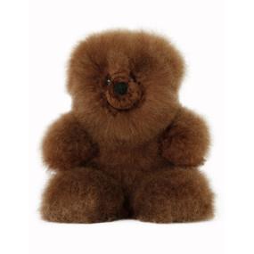 "Superfine 100% Baby Alpaca Fur Stuffed Artist Teddy Bear 11""  (22B-014)"