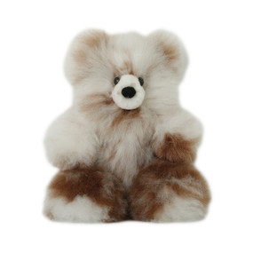 "Superfine 100% Baby Alpaca Fur Stuffed Artist Teddy Bear 11""  (22-100-03429)"