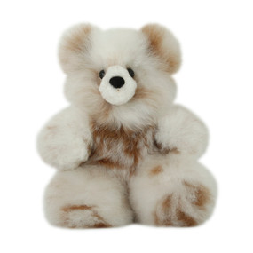 "Superfine 100% Baby Alpaca Fur Stuffed Artist Teddy Bear 11""  (22-100-03431)"