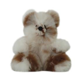 "Superfine 100% Baby Alpaca Fur Stuffed Artist Teddy Bear 11""  (22-100-03432)"
