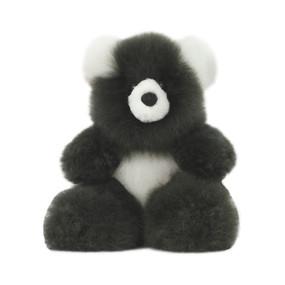"Superfine 100% Baby Alpaca Fur Stuffed Artist Teddy Bear 11""  (22-100-03433)"