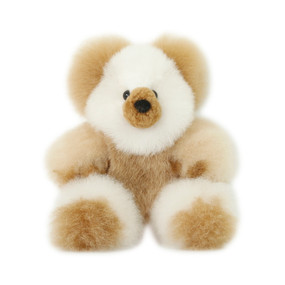 "Superfine 100% Baby Alpaca Fur Stuffed Artist Teddy Bear 11""  (22-100-03436)"