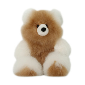 "Superfine 100% Baby Alpaca Fur Stuffed Artist Teddy Bear 11""  (22-100-03437)"