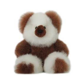 "Superfine 100% Baby Alpaca Fur Stuffed Artist Teddy Bear 11""  (22-100-03438)"