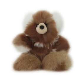 "Superfine 100% Baby Alpaca Fur Stuffed Artist Teddy Bear 11""  (22-100-03440)"
