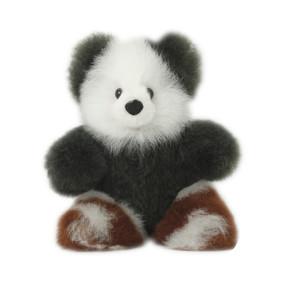 "Superfine 100% Baby Alpaca Fur Stuffed Artist Teddy Bear 11""  (22-100-03441)"