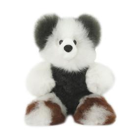 "Superfine 100% Baby Alpaca Fur Stuffed Artist Teddy Bear 11""  (22-100-03442)"