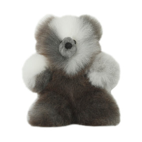 "Superfine 100% Baby Alpaca Fur Stuffed Artist Teddy Bear 11""  (22-100-03443)"