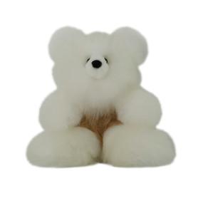 "Superfine 100% Baby Alpaca Fur Stuffed Artist Teddy Bear 11""  (22-100-03446)"