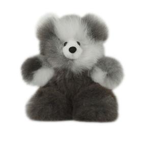 "Superfine 100% Baby Alpaca Fur Stuffed Artist Teddy Bear 11""  (22-100-03447)"