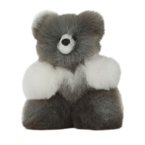 "Superfine 100% Baby Alpaca Fur Stuffed Artist Teddy Bear 11""  (22-100-03448)"
