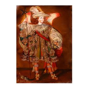 Archangel Raphael Medicine Of God Original Peru Folk Art Oil Painting On Canvas