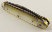 Antique 1800s Pocket Pen Knife with a Pearl Handle