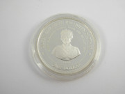 Silver Coin Queen Elizabeth The Queen Mother 1994 Barbados One Dollar