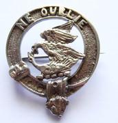 Antique Scottish Clan Graham Ne Oublin Brooch