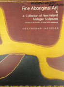 Fine Aboriginal Art & a Collection of New Ireland Malagan Sculptures Reference Book