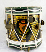 WW1 The Royal Ulster Rifles Military Drum