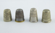 #3 Collection of  Vintage and Antique Thimbles  $40
