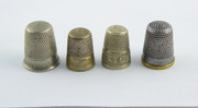 #4 Collection of  Vintage and Antique Thimbles  $40