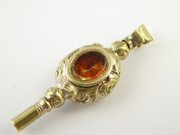 Antique  1800s Fancy Watch Key with Stone Inserts    $95