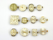 12 Mechanical Watch Movements for Parts Steampunk Ticking