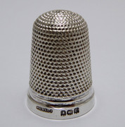 1923 Antique Sterling Silver Sewing Thimble  Henry Griffith & Sons