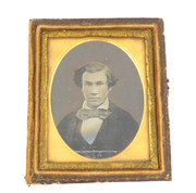 1800s Victorian Ambrotype Photograph by Turnbull 75 Jamaica st Glasgow