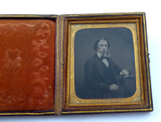 1800s Victorian Ambrotype Photograph by Kennedy 62 Jamaica st Glasgow