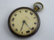Vintage Invectic Swiss Mechanical Pocket Watch Needs Work