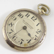 Vintage The Unbreakable Tyneside Lever Swiss  Mechanical Pocket Watch