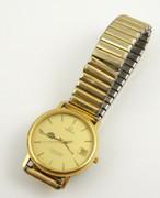 Vintage Gents BHP Mining Quartz Omega Seamaster Wrist Watch