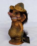 Vintage Scandinavian  Norwegian Nyform Troll Doll 170 Made in Norway