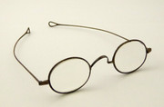 1800's Antique Georgian Steel Rimmed Glasses Spectacles