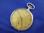 Antique Art Deco 1900s German .800 Silver Pocket Watch Alpine