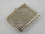 Antique 1891 Sterling Silver Cigarette Case