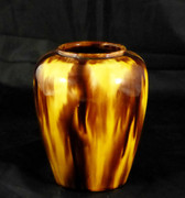 Vintage Australian Pottery Vase McHugh Pottery Tasmania 1934 Shape 10