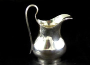 Vintage 1936 Solid Sterling Silver Milk or Cream Jug by S. Blanckensee & Son Ltd