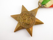 Original Issued  Unnamed WW2 Commonwealth Military The Italy Star  Medal with Ribbon $65au