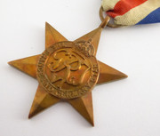 Original Issued  Unnamed WW2 Commonwealth Military The France & Germany Star  Medal with Ribbon $65au