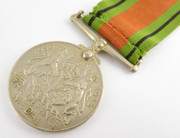 Original Issued Unnamed WW2 Commonwealth Military Defence  Medal with Ribbon $55au
