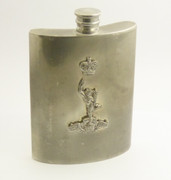 Vintage Australian AIF Royal Australian Corps of Signals Hip Flask