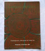 Australian Contemporary Aboriginal and Tribal Art Reference Book Lawson - Menzies 2001