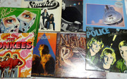 Vintage Collections 33  Rpm LP Long  Play Retro Records Dire Straits Etc