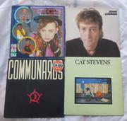 Vintage Collections 33  Rpm LP Long  Play Retro Records John Lennon Etc